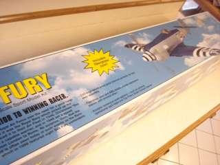 TOP FLITE GOLD EDITION SEA FURY R/C MODEL AIRPLANE KIT ** 64 inch