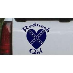 Redneck Girl Rebel Heart Country Car Window Wall Laptop Decal Sticker