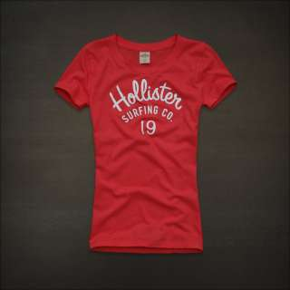 2012 NEW Hollister by Abercrombie womens Manhattan Logo Graphic Tee T