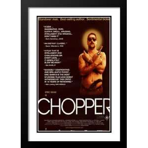 Chopper 20x26 Framed and Double Matted Movie Poster