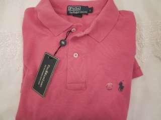 NWT Polo Ralph Lauren logo polo shirts, classic pony logo sizes S XXL