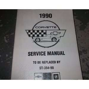 1990 Chevrolet Chevy Corvette Service Repair Manual 90: gm