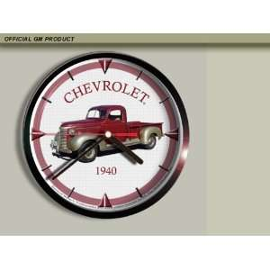 1940 Chevrolet Chevy Pickup Truck Wall Clock E043