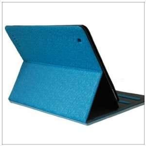 HQ Cloud Magnetic Smart PU Leather Case Cover iPad 2 Blue