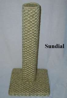 CAT SCRATCHING POST  THICK SUN SISAL