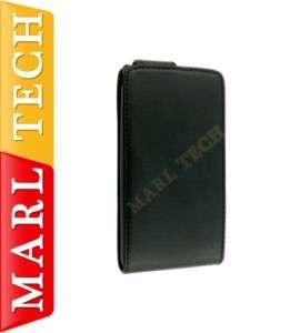 LEATHER FLIP CASE SONY ERICSSON XPERIA ARC MOBILE PHONE