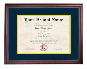 High School, College & University Diploma Frames 2