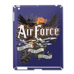 iPad 2 Case Royal Blue of Air Force US Grunge Any Time Any