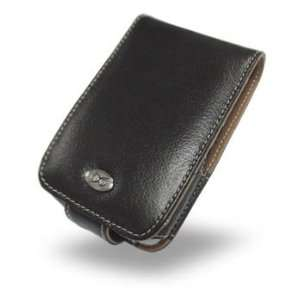 EIXO luxury leather case BiColor for Mitac Mio A201 Flip
