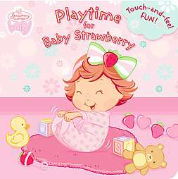Strawberry Shortcake Baby Playtime for Baby Strawberry Touch and feel