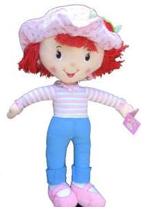 Strawberry Shortcake 26 Plush Doll by Kellytoy NEW