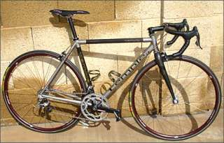 Temple Custom 6/4 Ti Titanium Carbon Road Bike Frame Fork
