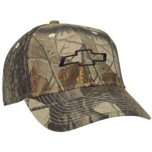 Chevy Bowtie Realtree Hardwoods Camo Hat