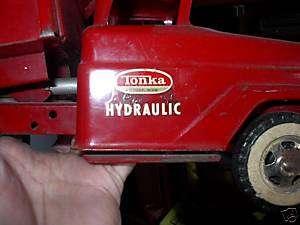 TONKA HYDRAULIC DUMP TRUCK DECAL SET