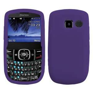 LINK 2 P5000 Cell Phone Soft Solid Skin Cover Case (Dr Purple)