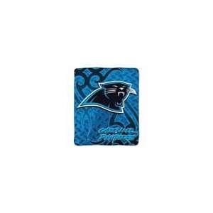 NFL Carolina Panthers Tattoo Super Plush Throw Sports