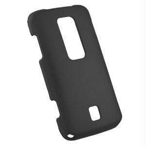 Premium Rubberized Black Snap On Cover for Huawei Ascend