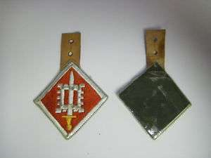 ph59 Vietnam US Army 18th Engineer Brgd Pocket Hanger