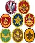 Boy Cub Eagle Scout Rank Patch Uniform Merit Badge Lot BSA Pin Medal