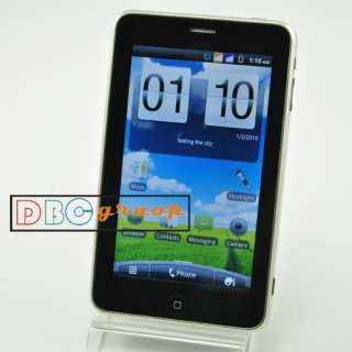 Capacitive Touch screen WIFI 3G cell phone Dual Sim TV Uncloked