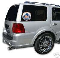 NEW YORK METS Logo Car Window Glass Covering Decal NEW