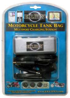 CELL PHONE GPS TANK BAG CHARGING CHARGE STATION FOR HARLEY DAVIDSON