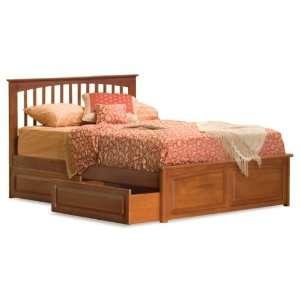 Brooklyn Twin Bed Frame   Open Footrail
