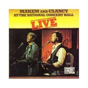 National Concert Hall [Vinyl] Clancy Brothers, Tommy Nakem Music