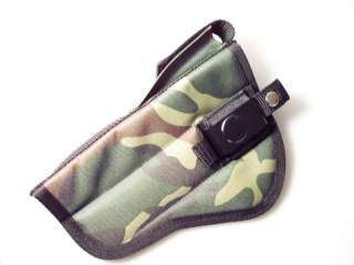 CAMO Belt HOLSTER S&W Model 22A 5.5 w/Scope & mag Pch
