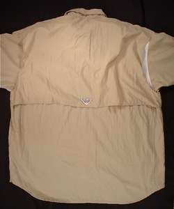 COLUMBIA PFG Performance Long Sleeve Fishing Shirt (Mens XXL