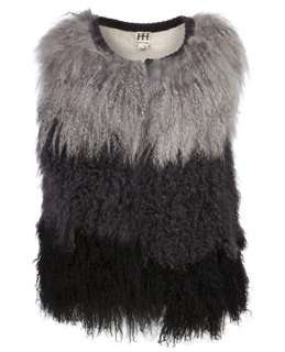 Haute Hippie Reversible Fur Vest   Knit Wit   farfetch