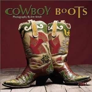 Cowboy Boots 2002 Wall Calendar (9780763136239): Books
