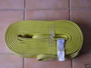 TOW STRAP 30 FT. NYLON SLINGS HEAVY DUTY RATED 8000*