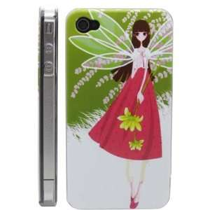 Apple iPhone 4 / 4s Wonderful Cartoon Girl hard Case cover for iPhone