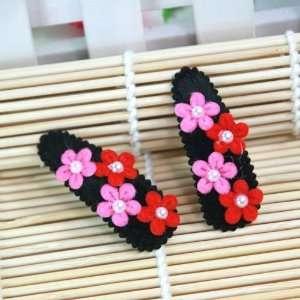 / Toddler/ Girls Flower Blossom Hair Clip (4109 4): Toys & Games