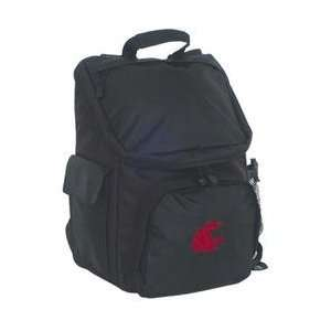 Lap Top Backpack   Wash St Cougars Black One Size