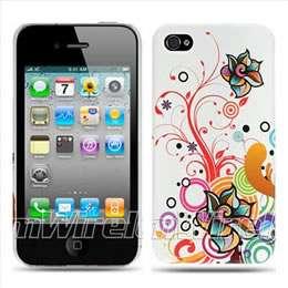 Apple iPhone 4S Sprint Verizon AT&T Purple Love Hard Case Cover