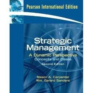 Strategic Management (9780135044438) Books