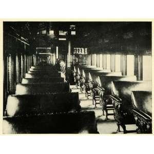 1906 Print Argentine Railway Train Locomotive Railroad
