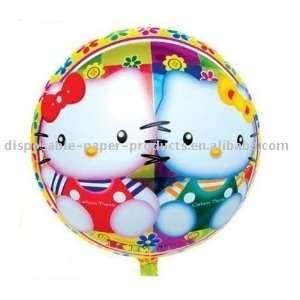 18 inch hello kitty round foil balloon foil balloon Toys & Games