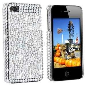 iPhone 4G Strass BLING GLITZER case Cover mit Swarovski
