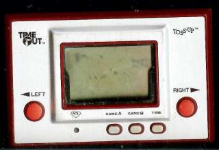 1980 NINTENDO TOSS UP BALL TIME OUT HANDHELD GAME WATCH