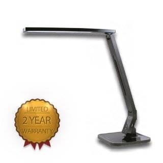 Deluxe Full Spectrum Desk Lamp, Brushed Steel