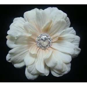 Perfect Ivory Bridal Flower Hair Clip and Pin Everything