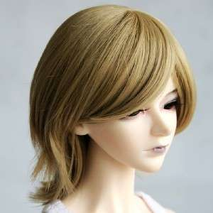 07# Brown Short Straight Wig 1/3 SD BJD Doll Dollfie 8 9