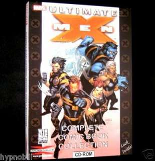 Ultimate X Men Comic Book Collection 70 XMEN on CD ROM
