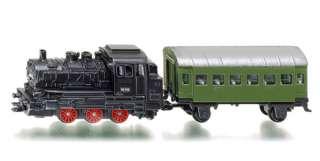 1657 Siku 1120 Dampflok mit Personenwagen TT Lok