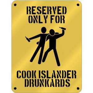 Reserved Only For Cook Islander Drunkards  Cook Islands Parking Sign