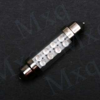 DOME 8 LED CAR INTERIOR BULB LAMP LIGHT 39mm WHITE 12V