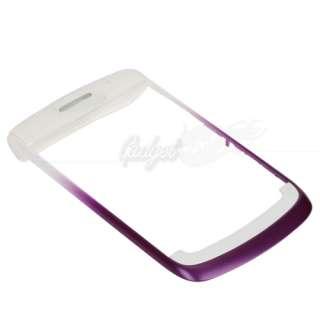 Piece Housing for Blackberry BOLD 9700 Purple/White